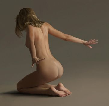 Nude Study by AKS9