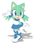 Commission: Irma the hedgehog by RGXSuperSonic