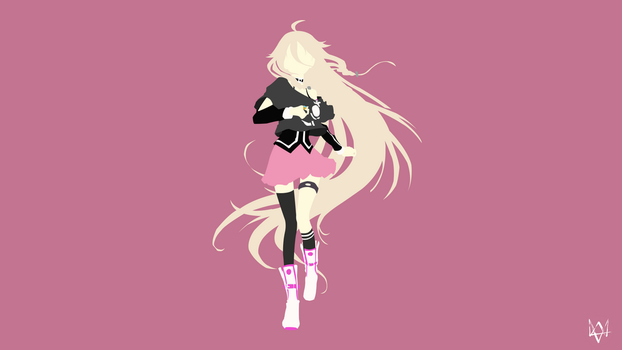 IA | Vocaloid Minimalist Wallpaper by Lucifer012