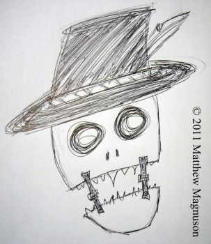 Skeleton Pimp by PigsCanFly2day