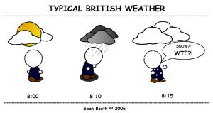 Typical British Weather by Splbooth