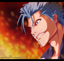 practice : Grimmjow by the103orjagrat