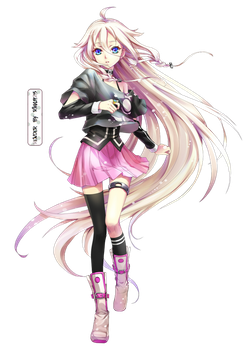 Ia - Vocaloid Render I by Rikku923