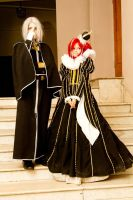cosplay Esther and Abel 2 by NakagoinKuto