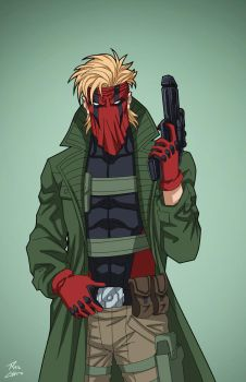 Grifter (Earth-27) commission by phil-cho