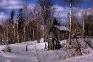 HDR Old Shack 2 by Nebey