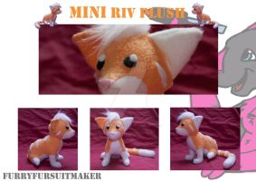MINI plush commission by FurryFursuitMaker