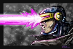 Cyclops Speed Paint by Bane-the-Jester