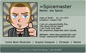 Faceyourmanga by spicemaster