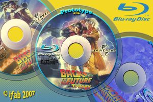 Blu-ray Discs - BTTF Trilogy by iFab