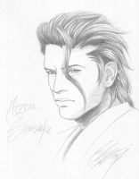 BLEACH : Aizen Sousuke by blackstorm