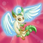 Leafeon used Aerial Ace by homa-Nix