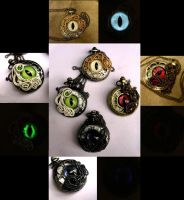 Custom - 4 Horsemen Pocket Watch Set by LadyPirotessa