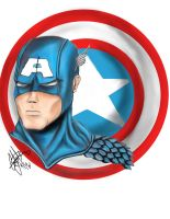 Captain America GIMP by CJRogue