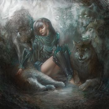 The Sister of Wolves by Eriyal