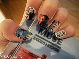 Muse on nails.. by KiraSTFD
