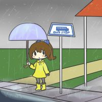 Rain Rain Go Away by Quite-Lovely-Puzzles