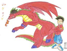 american dragon jake long by valkdaombras