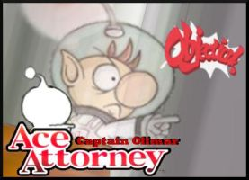 Captain Olimar: Ace Attorney by Pikmaniak