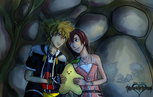 Kingdom Hearts: The Paopu Fruit by Transientfox