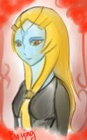 Midna_ portrait by Christy58ying