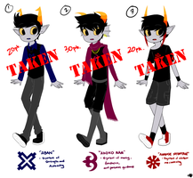 Fantroll Adoptables [CLOSED] by Shibikii
