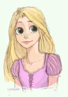 Tangled's Rapunzel by compoundbreadd