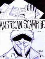 American SCAMpire by Mulv