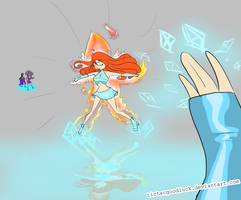 Isy vS Bloom by TicTacGoodLuck