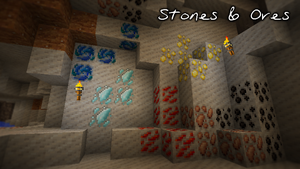 Stones and Ores - Minecraft by Jehkoba