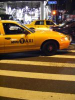 NYC Taxi by make-a-snappy