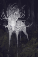 Deer God by Glad-Sad