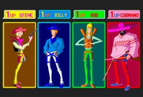 Sunset Riders Tribute Color by yoanndurand