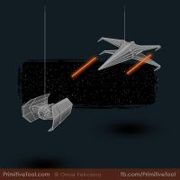 The Origami Battle (un)Folds by OmarFeliciano