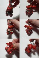 Guilmon Charm by ChibiSilverWings