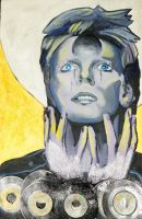 David Bowie Icon by marshappynation