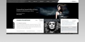 Fashion Website by IkeGFX