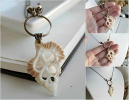 seashell necklace by JuleeMClark