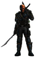 Deathstroke - Transparent by Asthonx1