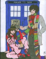Dr. Who and Sarah Jane commission by Slayer730
