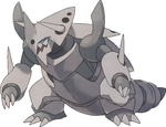 MegaAggron by KrocF4