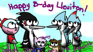 happy birfday :D by ThreeInTheMornin