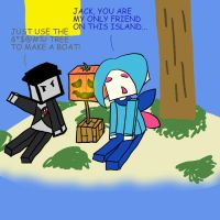 Minecraft: My Only Friend by Avi-the-Avenger