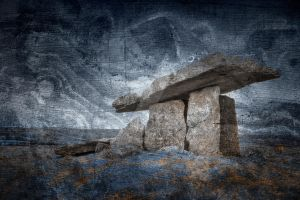 Winter Grunge Dolmen - Exclusive Premade Stock by somadjinn