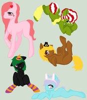 Adoptable Bunch 20 by Ezzys-adoptables