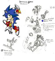 Trickster Sonic Concept by ProjectHazoid