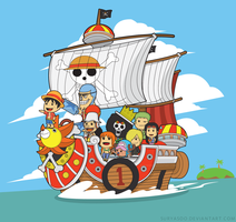 One Piece Chibi Style - To The Next Island by SuryaSoo
