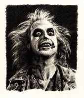 Beetlejuice (Pencil Draw) by MarcoFaccio