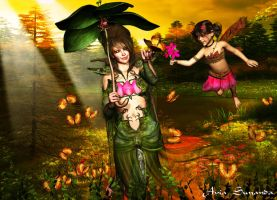 My entry the backround contest by Avia-Sunanda