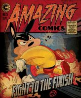 He's back -- Mighty Mouse by CHUCKAMOKK